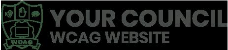 WCAG Compliant Website Demo logo